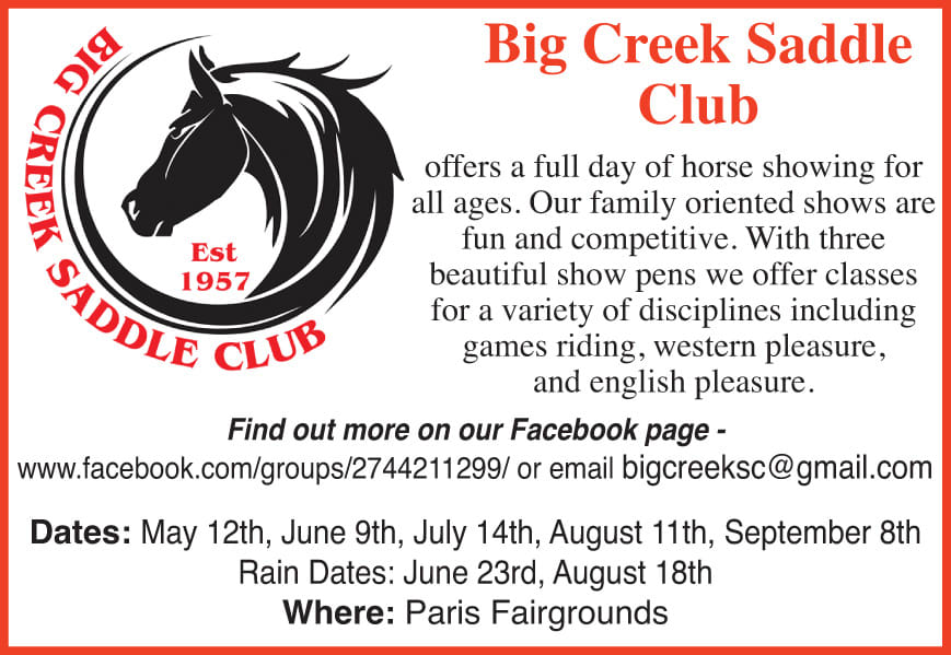 Big Creek Saddle Club