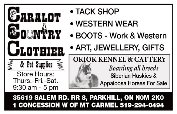 Caralot Country Clothier & Pet Supplies