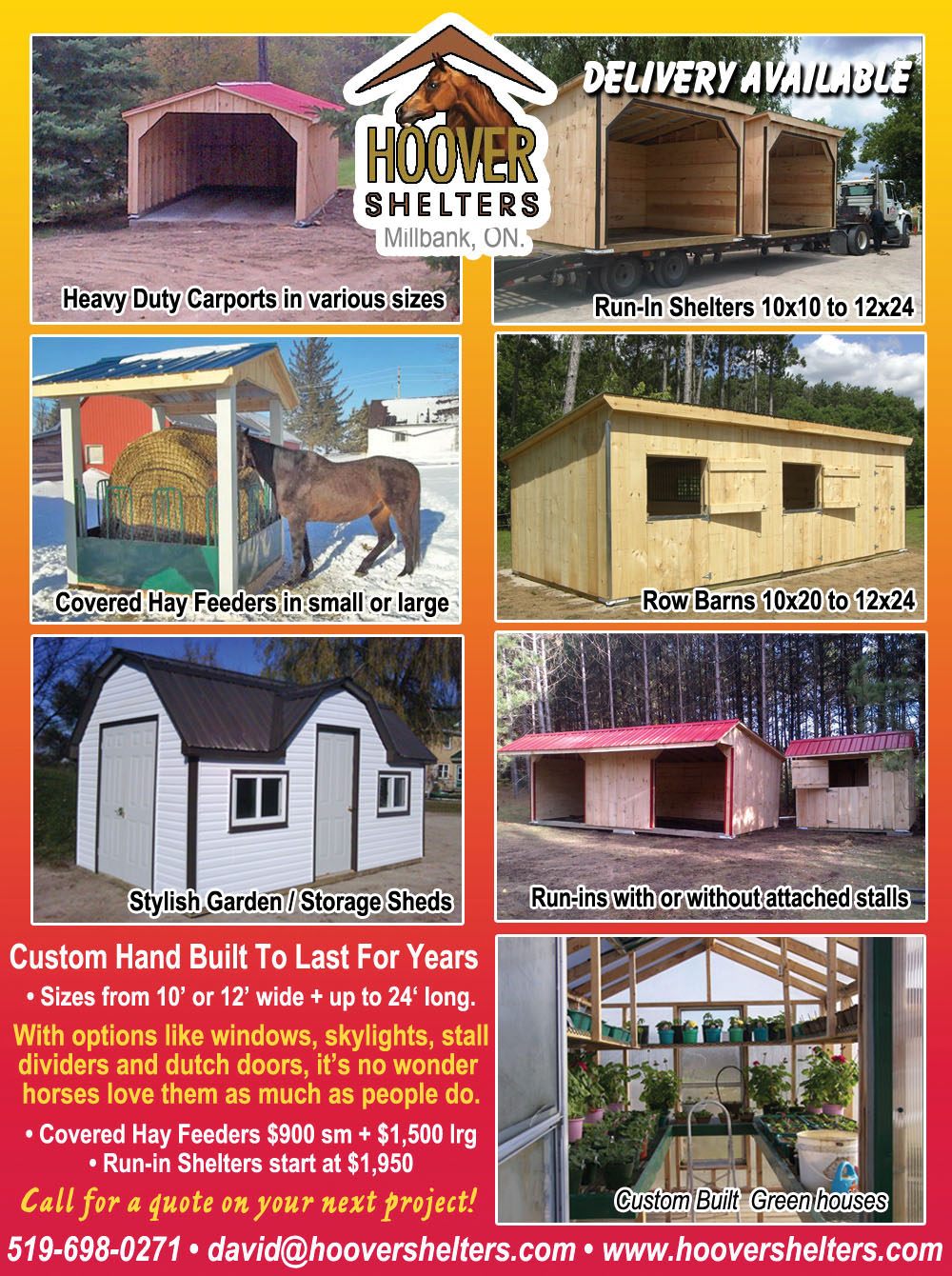 Hoover Shelters