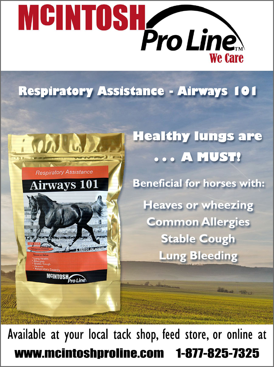 McIntosh Proline respiratory assistance Airways 101