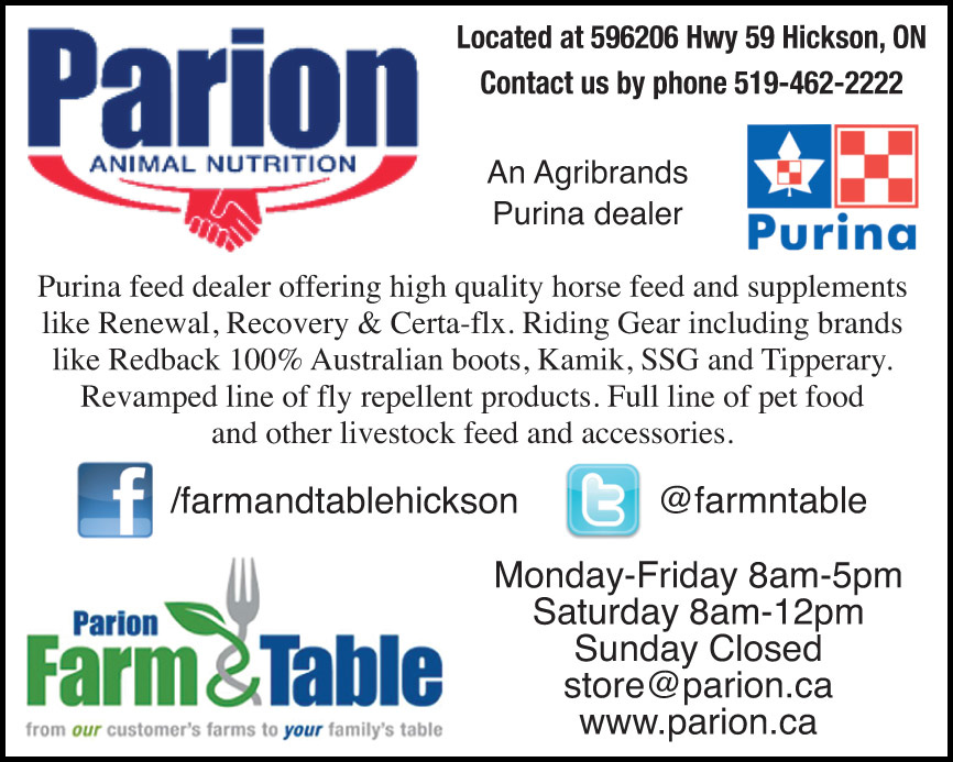 Parion Animal Nutrition