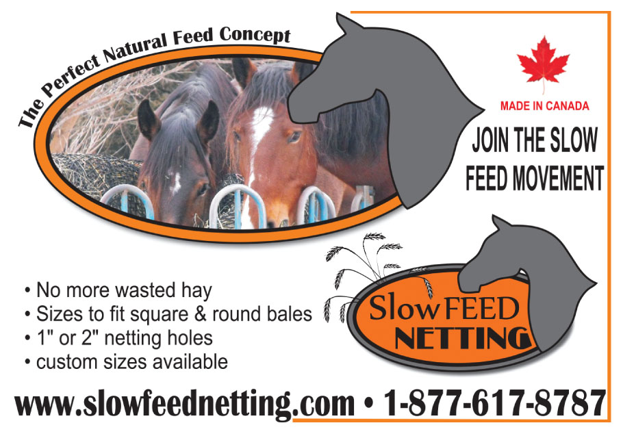 Slow Feed Netting