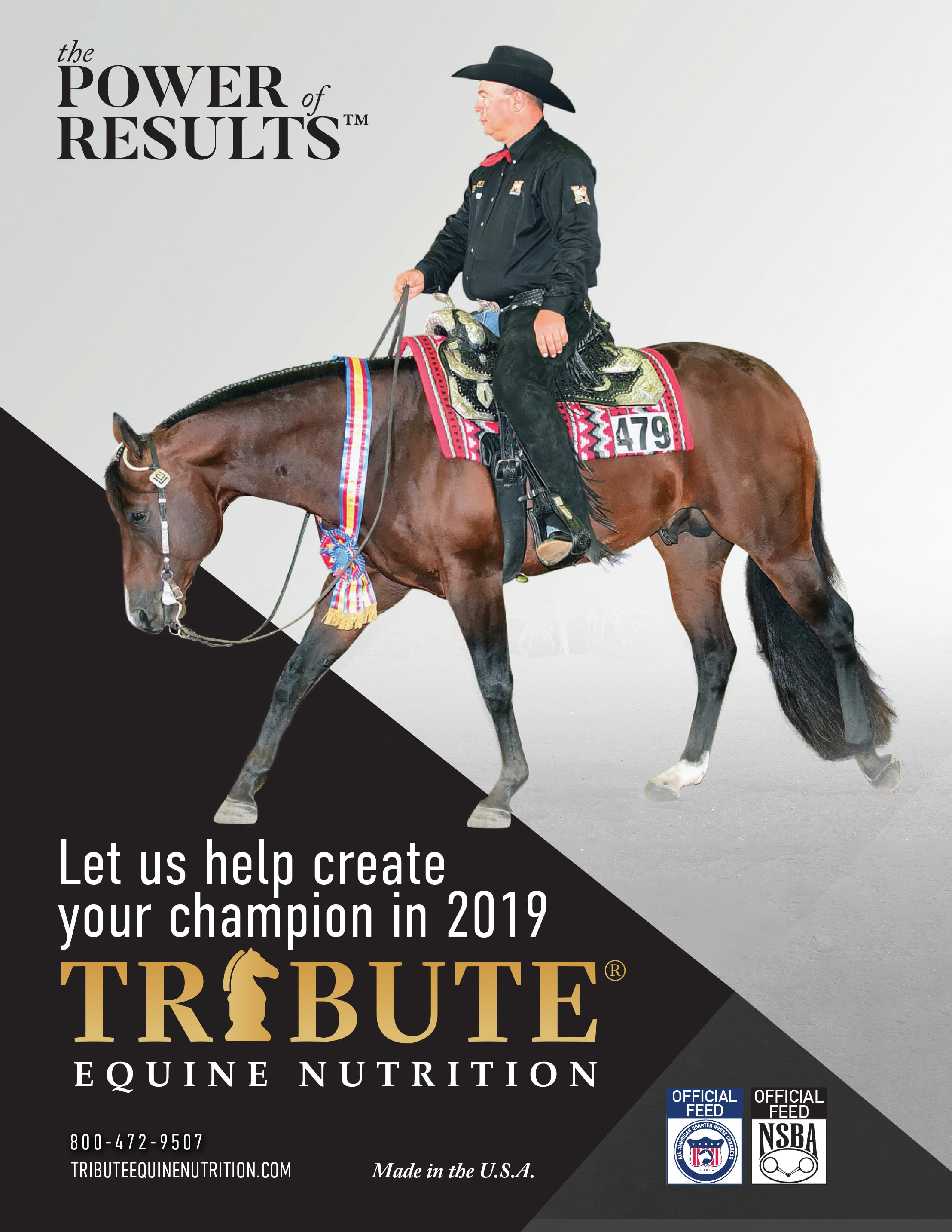 Tribute Equine Nutrition Ad