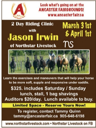 Jason Irwin Clinic advertisement