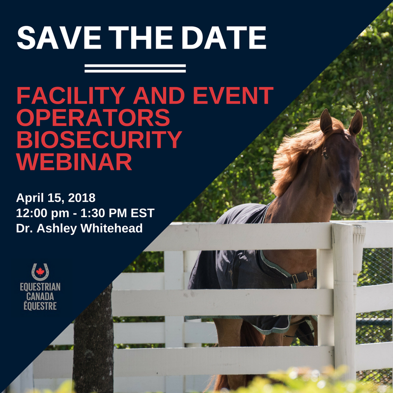Facility and Event Operators Biosecurity Webinar